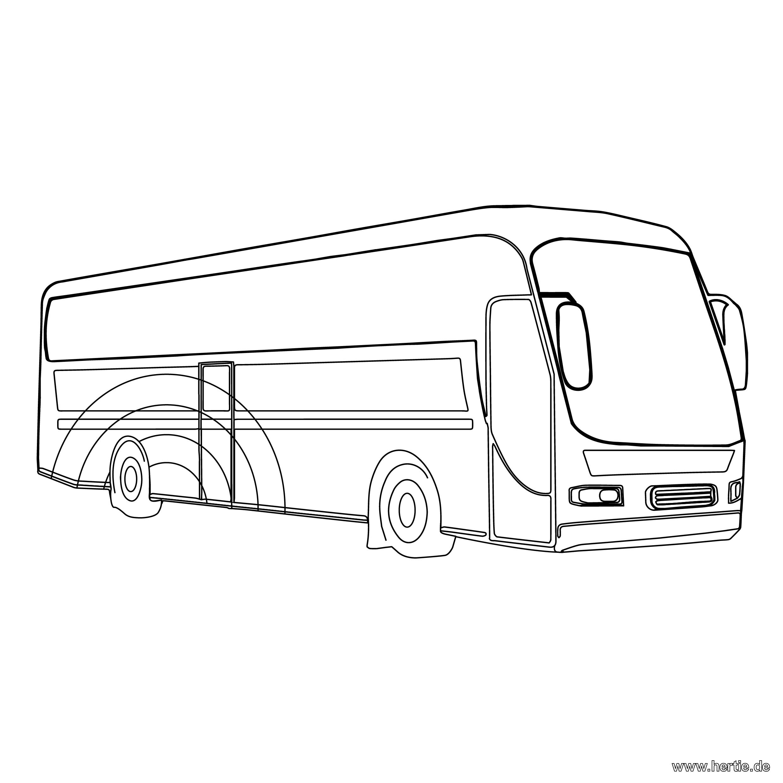 Ungewöhnlich Bus Malvorlagen Für Kinder Ideen - Druckbare ...