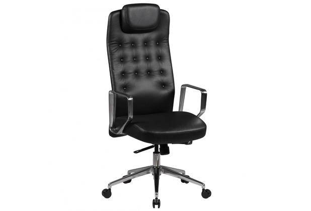 Design Schreibtischstuhl amstyle bürostuhl edison echtleder schwarz schreibtischstuhl