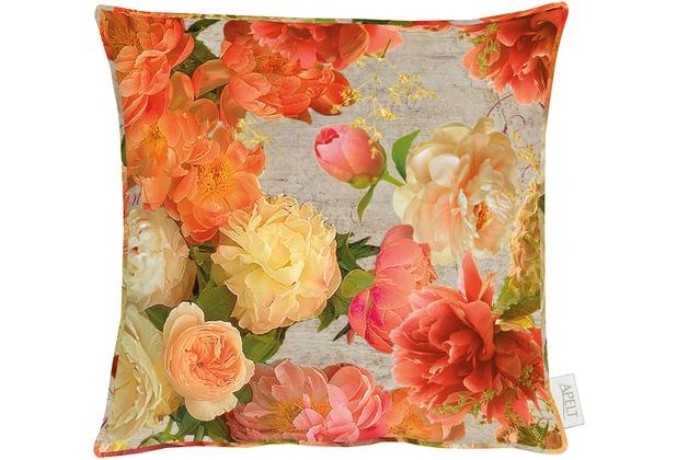 Apelt Herbstzeit Kissen Orange Terracotta 39x39