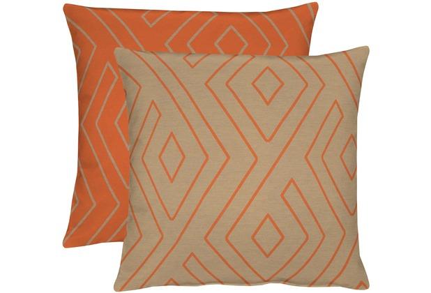Apelt Loft Style Kissen Orangetaupe 45x45