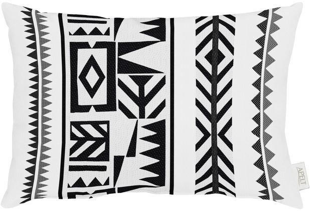 Hervorragend APELT Loft Style Kissen schwarz/weiß 35x50 | Hertie.de DH79