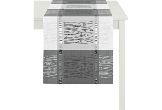Apelt Loft Style Laufer Schwarz Weiss 44x140