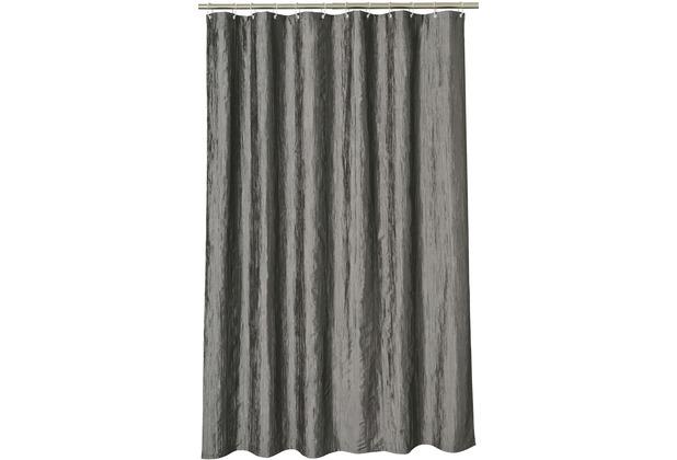 aquanova crush duschvorhang 180x200 cm 98 dunkelgrau 180 x 200 cm. Black Bedroom Furniture Sets. Home Design Ideas