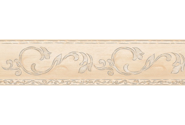 Selbstklebende Tapete Wellness : AS Cr?ation selbstklebende Bord?re Only Borders 9 beige creme
