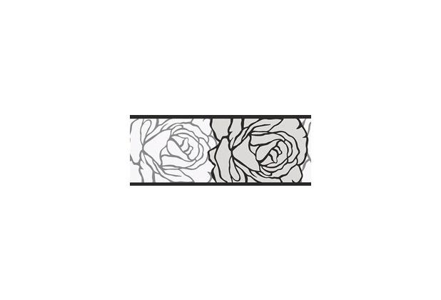 Neu AS Création selbstklebende Bordüre Only Borders 9 grau schwarz  DQ35