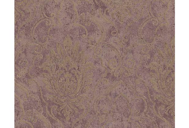 as création bohemian mustertapete, tapete, glänzend, vintage-look ... - Tapetenmuster Schlafzimmer Braun