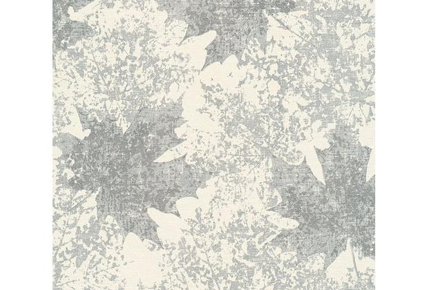 as cr ation florale mustertapete in vintage optik borneo tapete creme metallic. Black Bedroom Furniture Sets. Home Design Ideas