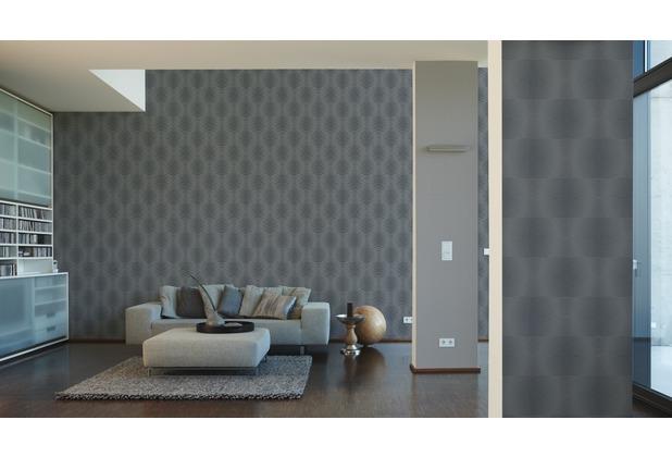 Extrem AS Création Muster-, Strukturtapete Cocoon, Vliestapete, grau BH06