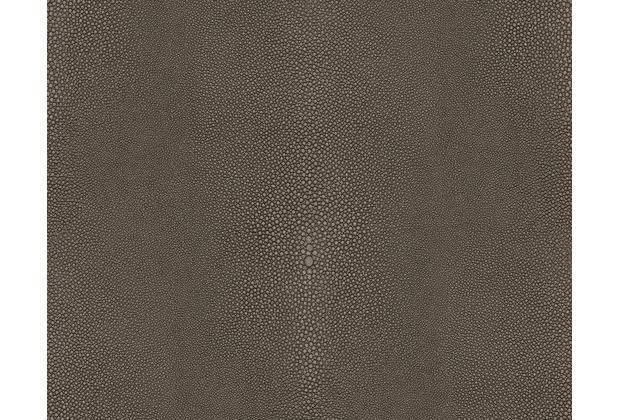 AS Création Muster , Strukturtapete Soraya Tapete Braun Schwarz 10,05 M X 0,