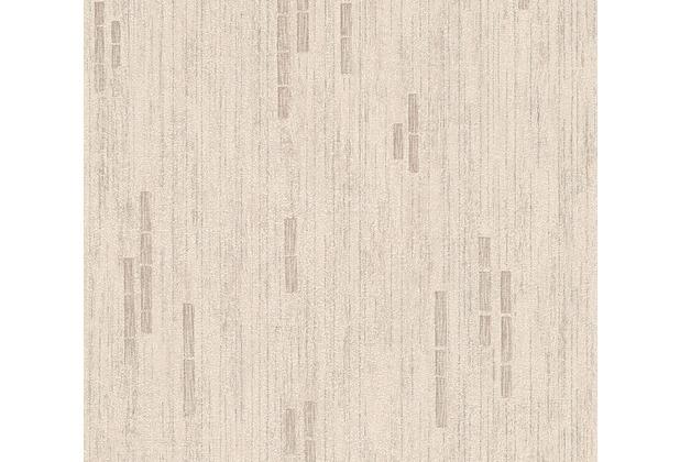 as cr ation mustertapete essentials vliestapete tapete beige braun metallic. Black Bedroom Furniture Sets. Home Design Ideas