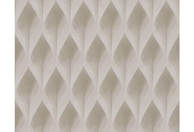 ... Mustertapete in 3D-Optik Move your Wall, Tapete, beige | Hertie.de