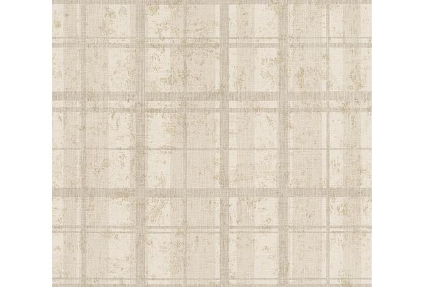 as cr ation mustertapete in vintage optik midlands tapete beige creme metallic. Black Bedroom Furniture Sets. Home Design Ideas