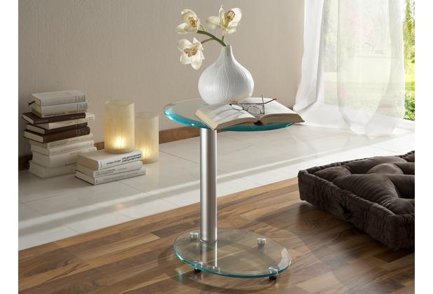Iovivo Couchtisch Oval Mit Glasplatte Schöner Ovaler