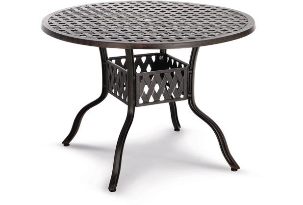 Best Tisch Antigua 106cm O Alu Guss Bronce Hertie De