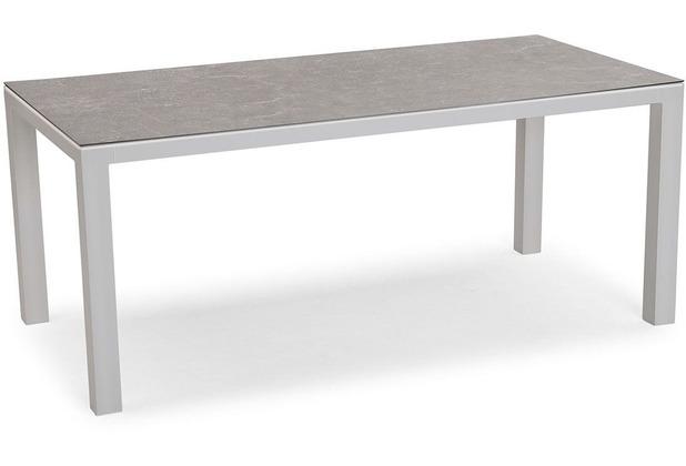 Best Tisch Houston 210x90cm Silberanthrazit Gartentisch