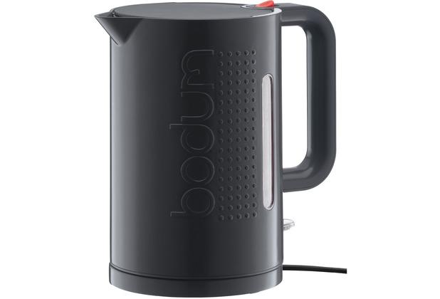 Bodum Wasserkocher bodum wasserkocher bistro 1 5l schwarz hertie de