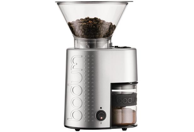 bodum bistro elektrische kaffeem hle kegelmahlwerk. Black Bedroom Furniture Sets. Home Design Ideas