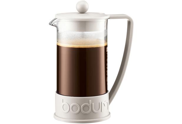 bodum brazil kaffeebereiter 1 0 l 8 tassen cremefarben. Black Bedroom Furniture Sets. Home Design Ideas