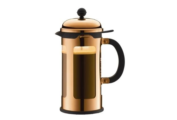 bodum chambord kaffeebereiter 1 0 l 8 tassen terracotta. Black Bedroom Furniture Sets. Home Design Ideas