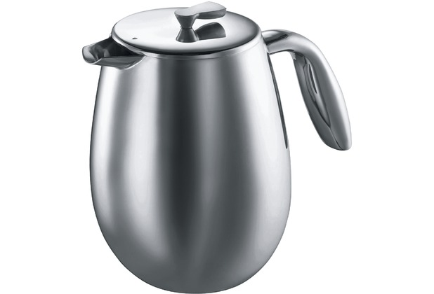 Bodum Columbia Kaffeebereiter 15 L 12 Tassen Matt Hertiede