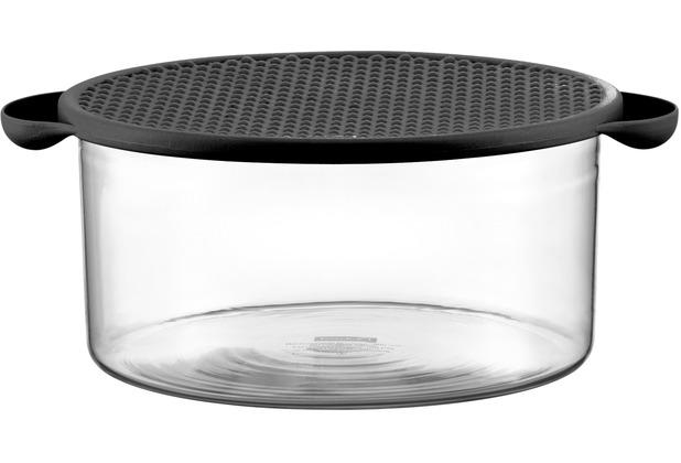 bodum hot pot schale mit deckel 2 5 l schwarz. Black Bedroom Furniture Sets. Home Design Ideas
