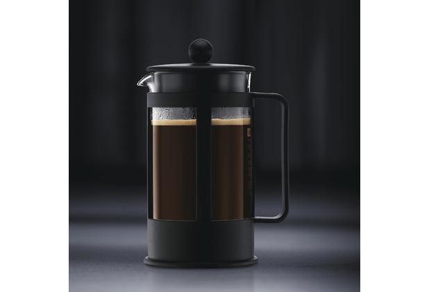 bodum kenya kaffeebereiter 0 35 l 3 tassen schwarz. Black Bedroom Furniture Sets. Home Design Ideas