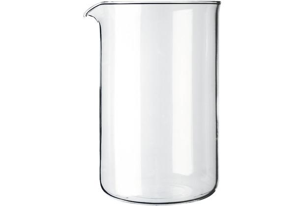 bodum spare beaker ersatzglas zu kaffeebereiter 12 tassen 1 5 l transparent. Black Bedroom Furniture Sets. Home Design Ideas