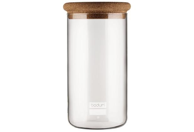 bodum yohki vorratsglas mit korkdeckel 2 0 l kork. Black Bedroom Furniture Sets. Home Design Ideas