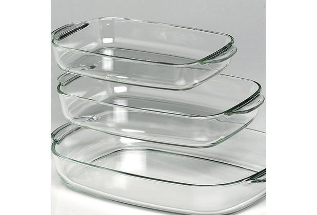 Bohemia simax glas brat und backform fashion 39x25cm for Glas beistelltisch rechteckig