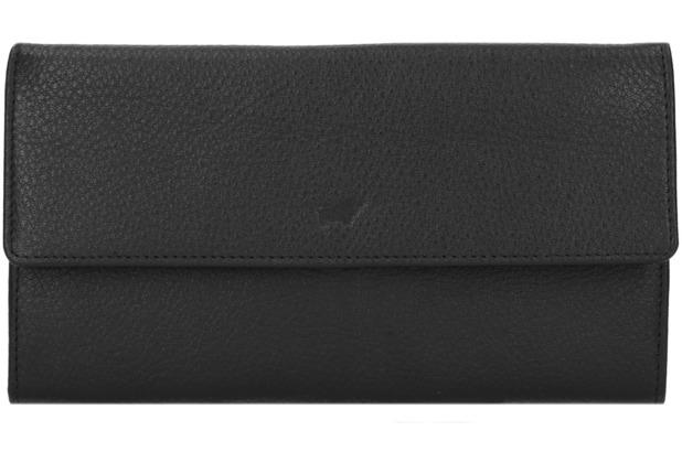 Braun Büffel Savona Kreditkartenetui Leder 18 6 Cm Schwarz