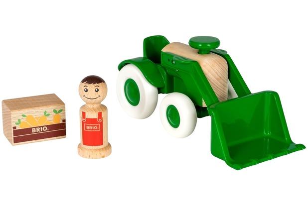 Brio traktor mit frontlader hertie