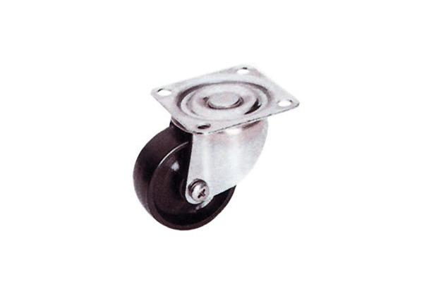 BS Rollen Möbel-Lenkrollen Polyamid schwarz Durchmesser: 40 mm ...