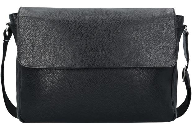592595bac47ba Bugatti Citta Messenger Aktentasche Leder 35 cm Laptopfach black ...