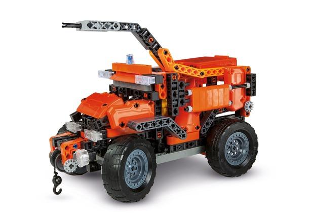 Clementoni Galileo Construction Rettungsfahrzeuge Hertie De