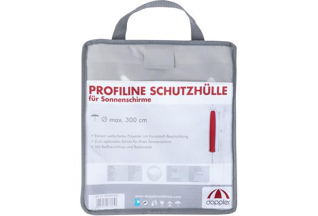 Doppler Profi Line Schutzhulle Grau In Tragetasche Mit Rv Mit Stab