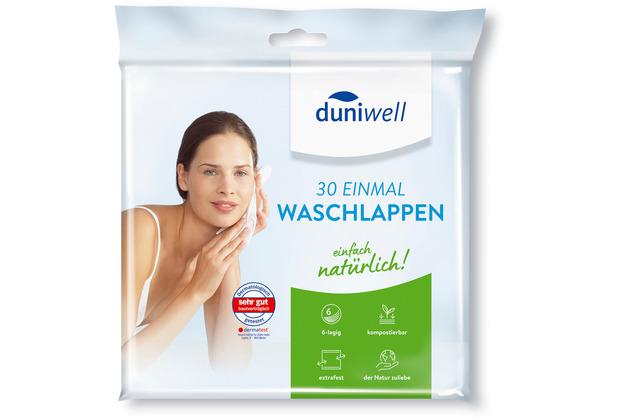 Duni Duniwell Einmal-Waschlappen 30 St/ück