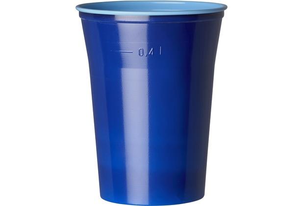 duni gl ser plastik colorix 50 cl 10 st ck blau. Black Bedroom Furniture Sets. Home Design Ideas