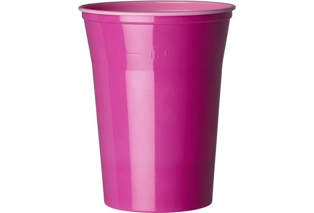 duni gl ser plastik colorix 50 cl 10 st ck pink. Black Bedroom Furniture Sets. Home Design Ideas