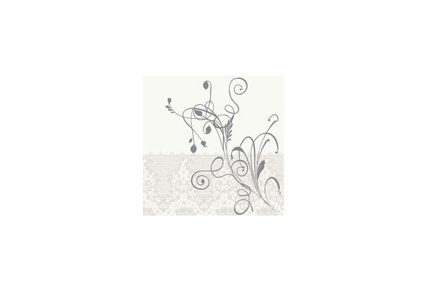 Duni poesie servietten aus dunilin motiv lea white 40 x for Duni servietten weihnachten