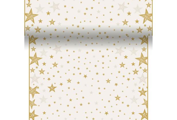 4 Motiv Natural Harmony alle 40 cm perforiert Duni Dunicel-Tischläufer 3 in 1