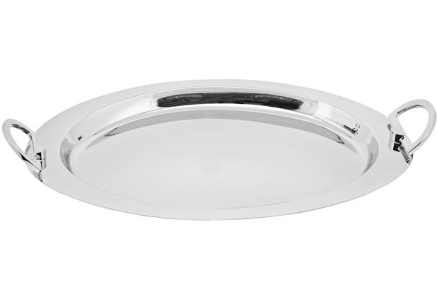 Rutschfest Tablett grau 45 grau 45 x 34 cm h 6 cm