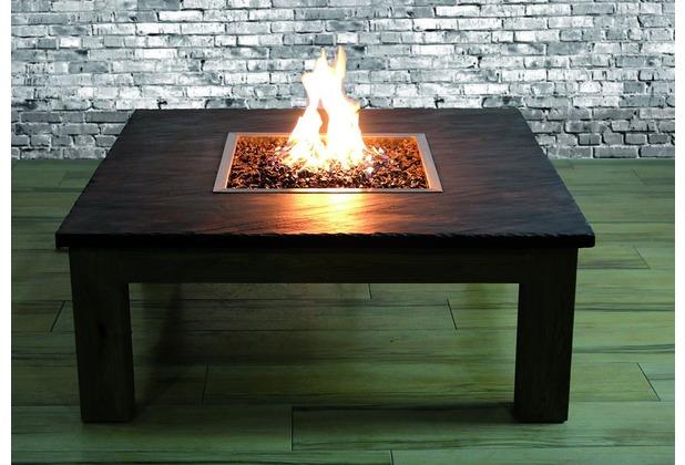 Elementi Gas Feuerstelle Colima Mit Schiefer Tischplatte