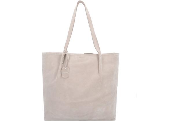 db01aca13077e ESPRIT Ginger Shopper Tasche Leder 33 cm beige