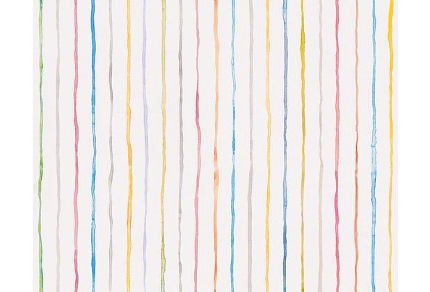"""Tapeten Rot Gold Gestreift : esprit kids Streifentapete """"Dots & Stripes"""", Papiertapete, bunt"""