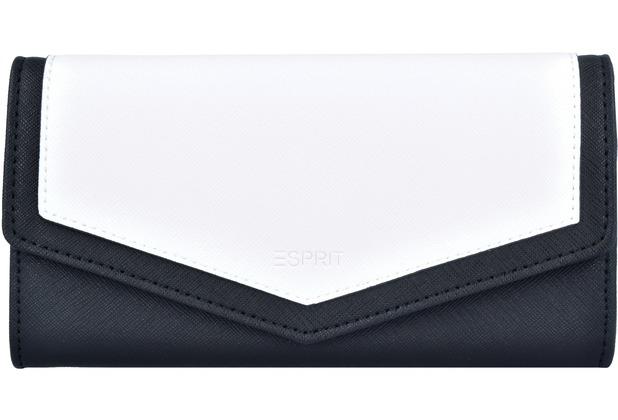 bbe33343b5537 ESPRIT Lara Damen Geldbörse 19 cm off white