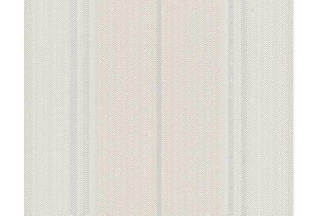 """Tapeten Schlafzimmer Esprit : Esprit Home Streifentapete """"Manufactured"""", Tapete, creme, grau, weiss"""