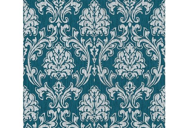 esprit vliestapete eccentric luxury tapete blau grau metallic. Black Bedroom Furniture Sets. Home Design Ideas
