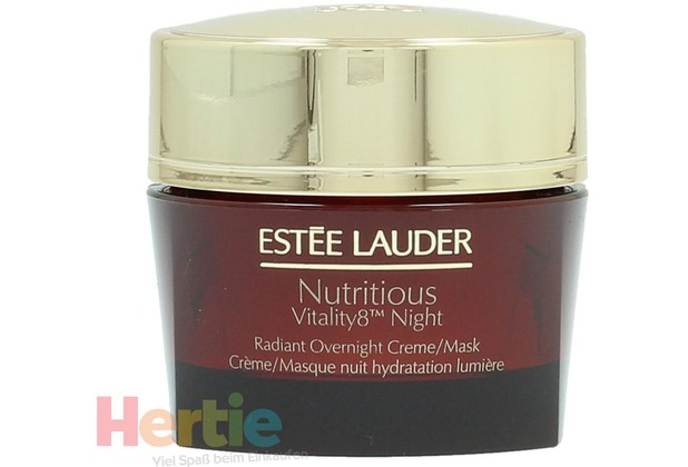 estee lauder nutritious vitality8 night cream mask 50 ml. Black Bedroom Furniture Sets. Home Design Ideas