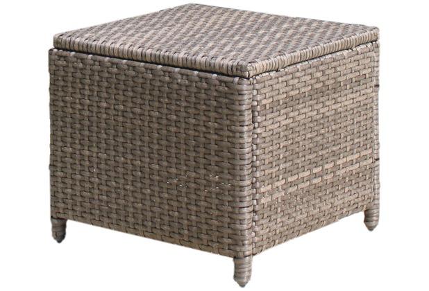 famous home rattan hocker vintage polyrattan sofa tisch kaffeetisch braun. Black Bedroom Furniture Sets. Home Design Ideas