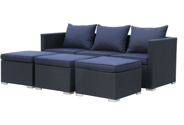 Beautiful Free Famous Home Rattan Lounge Tlg Loungembel Gartenmbel  Rattanmbel Pepe Schwarz Garten Loungemobel Anthrazit With Garten Rattanmbel  With Rattan ...